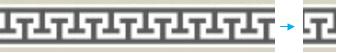 Gambar 3. Detail Ornamen Meander