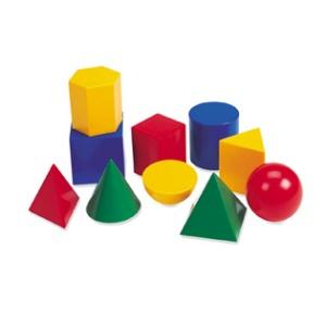 Large Plastic Geometric Shapes