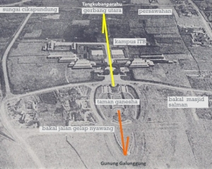 Siteplan ITB tahun 1920-an