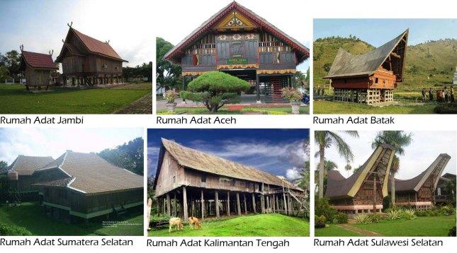 Rumah Adat Indonesia Persamaan Dalam Keberagaman There S