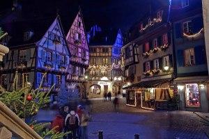 Gambar 1. Kota Colmar, Perancis. Kota masa lalu yang nyawa hidupnya masih bertahan menjadi kota masa kini.