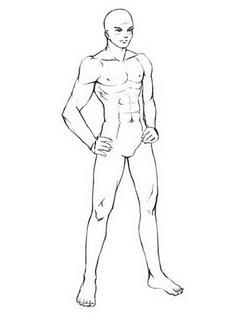 Proporsi Dalam Menggambar Kepala Dan Tubuh Manga There S