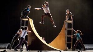 Instalasi Urban Skate Park pada penampilan Architecture in Motion