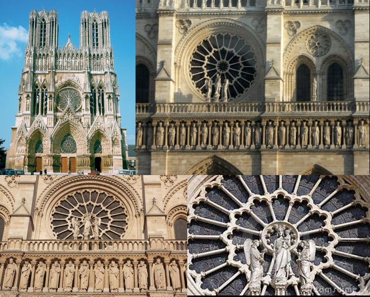 Geometri Fraktal di Bangunan Cathedral Notre Dame, Paris