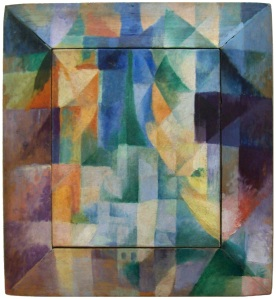 Simultaneous Window oleh Robert Delaunay