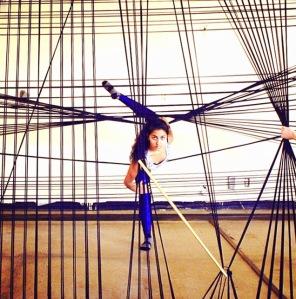 Penggunaan geometri dalam tarian