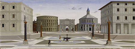 450px-Fra_Carnevale_-_The_Ideal_City_-_Walters_37677